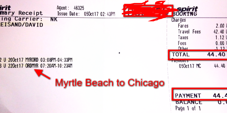 I Paid 44 Round Trip To Chicago With
